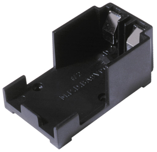 BA9VPC - 9 Volt Battery Holder PC Pins w/ Reverse Polarity Protection