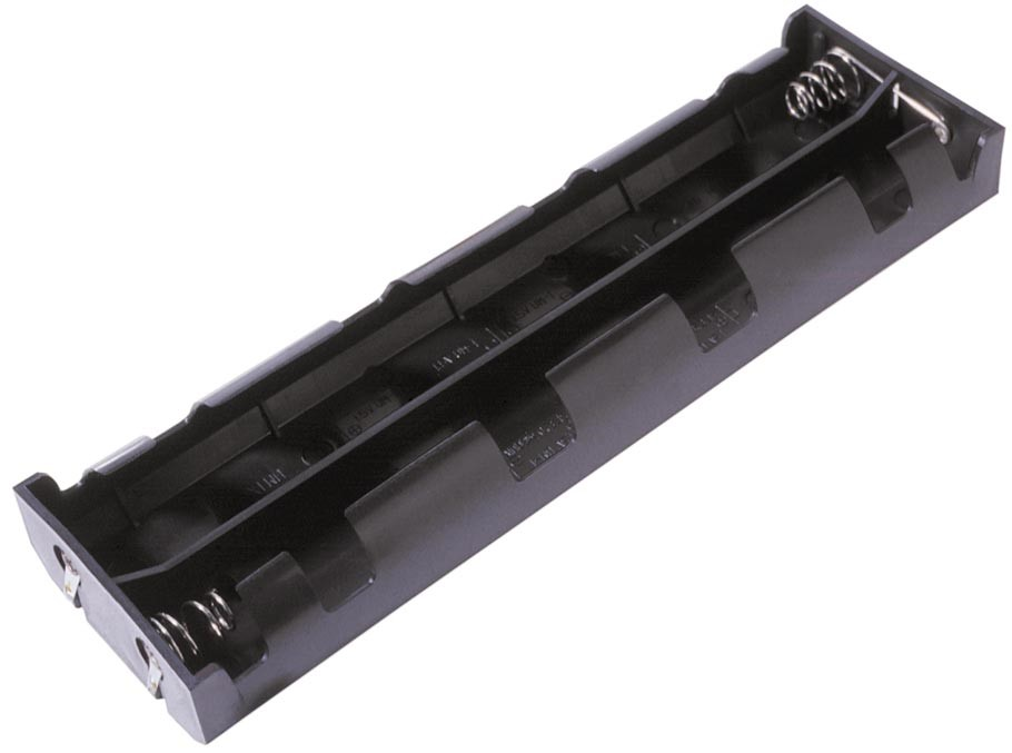 BH28DL - 8 D Cell Battery Holder w/ Solder Lugs