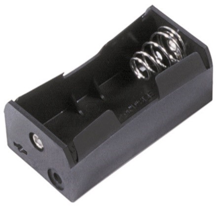 BHDL - Single D Cell Battery Holder w/ Solder Lugs
