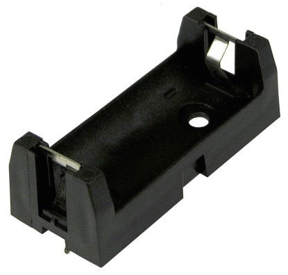 6S-2/3A - 2/3A Battery Holder w/ PC Pins