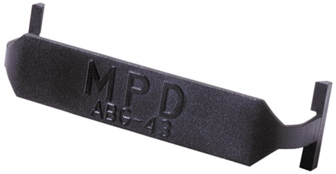 AB G-43 - Strap cover for certain AA battery holders.